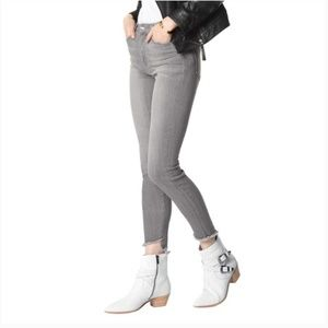 Joe's Jeans The Charlie High Rise Skinny Gray